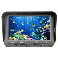 Fischfinder Unterwassereis-Video-Angelwerkzeuge Kamera 4,3-Zoll-LCD-Monitor 6 LED 720P Nachtansicht 30m Kabel FF118 (US