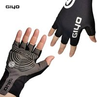 Cycling Gloves Fingerless Half Finger Bicycle Summer MTB Cycl Glove Men Woman For Spotrs Gym Fitness Fishing Bike Training GIYO