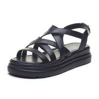 Sandalet Platformu Ayakkabı kadın Düz Kadın Topuk Tasarımcı Kadın Yaz Kadınlar Için Plaj Sandles Tıknaz Topuklu 35 1V4i