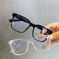안티 푸른 빛 안경 유니섹스 컴퓨터 게임 안경 패션 남자 여성 안경 프레임 컴포트 블루 레이 블로킹 클리어 렌즈