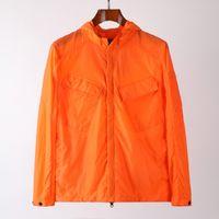 Rüzgarlık Kazak Topstoney Erkek Ceket Cyberpunk Rahat Streetwear Şirketi Fermuar Açık Hood Coat 3 Renk Asya Boyutu M-XXL