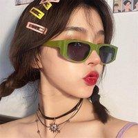 Gafas de sol Plaza Mujeres Hip Hop Gafas de sol Hombres Personalidad Sombras Gafas Eyewear EyeGlasses
