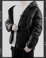 유행 남자 다운 재킷 매우 높은 품질 편안하고 따뜻한 편지 자수 리본 클래식 블랙 고체 솜씨 중에서 선택할 수있는 5 가지 크기