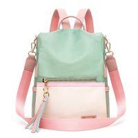 Backpack Backpacks For Women 2021 Casual Ladies High Capacity Back To School Bag Teenage Girls Travel Students Mochila Bolsa 1