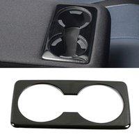 Für Mazda CX-30 Autoauto-Accessoires Hinterer Tasse Halter Panelabdeckung Button Trimmrahmen Aufkleber Innendekoration