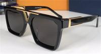 Moda homens e design de mulher óculos de sol 1288 quadro quadrado simples estilo versátil qualidade superior uv400 óculos protetores