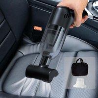 Odkurzacze odkurzacze 8000Pa Bezprzewodowa czyszczenie samochodu Cales Cordless Handheld Auto Home Dual Użyj mini z torbą do przechowywania