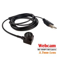 3.7mm Lens 1080P Full HD USB Camera 15x15mm Module MJPEG High Speed Mini CCTV Linux UVC Android Webcam Surveillance Camera