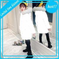 Зимние дети света, отражающие для девочек жирные реальные BONT толстовки Parka длинный стиль печати JAS 4 6 8 10 12 13-летний