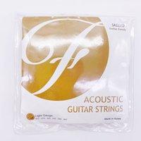 1 مجموعة Guitarfamily SAS سلاسل الغيتار الصوتية الشعبية 011-052 / 012-053 صنع في كوريا
