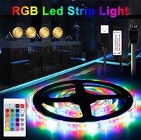 RGB الصمام قطاع ضوء dc 5 فولت 1 متر / 2 متر / 3 متر / 4 متر / 5 متر ماء rgbw شرائط أضواء مرنة الشريط داخلي غرفة نوم التلفزيون الإضاءة الخلفية