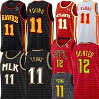 TRAE 11 JOVENDE JERSEY DE'ANDRE 12 Hunter Jersey Retro Malha Spud 4 Webb Basketball Jerseys Boningman Jogador Jersey City Edition
