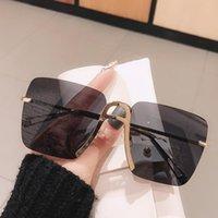 نظارات شمسية أزياء ماركة التدرج للنساء خمر شاي شاي شاي شاطئ الوردي نظارات أنثى أنيقة uv400 ظلال