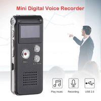 Digital Voice Recorder 1 Set Portable LCD Screen 8GB Dictaphone MP3 Telephone Player Audio K2U3