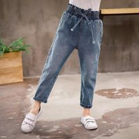 Jeans YourSeason Arrival Denim Trousers For Girls Casual Children Cotton Girl Spring Autumn 2021 Kids Flare Pants