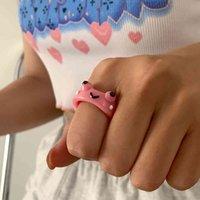 Hars kikker ring voor vrouwen gilr 3d dier chick aardbei schattig meisje sieraden kerstcadeau groothandel