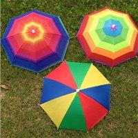 크리 에이 티브 모자 야외 스포츠 우산 모자 아기 모자 머리 모자 아기 태양 보호자 모자 태양 보호 양동이 모자