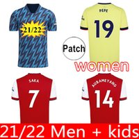 Fans Spielerversion Arsen Soccer Jerseys 21 22 Gunners Odegaard Thomas Pepe Saka Tierney Henry Wilian Smith Rowe 2021 2022 Fußball Hemd Kind Sets Uniform Frauen