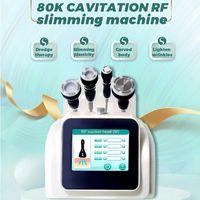 2021 ultrasonic 80K cavitation slimming face and body shaping vacuum liposuction skin tightening massage lifting instrument