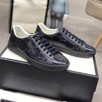 40% İndirim Orijinal Kutusu Klasik Arı Tasarımcı Casual Ayakkabı Erkek Kadınlar için Gerçek Deri Lüks G Simge Sneaker İşlemeli Adam Casuals ACE Ayakkabı STOK BOYUTU 35-47
