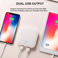 10000mAh 휴대용 전원 은행 외부 배터리 PowerBank 아이폰 12 11 Pro Max Samsung Xiaomi Huawei 스마트 휴대 전화 G1014