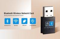 مصغرة USB WIFI Bluetooth 4.0 محول 150M اللاسلكية واي فاي بطاقة شبكة بلوتوث محول لاسلكي لسطح المكتب الكمبيوتر المحمول 2 في 1 استقبال
