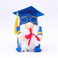 Gnome decorações de graduação sueco gnomos pelúcia anão anão escandinavo ornamento mesa de formatura para festa de formatura gwb5683