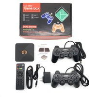 XS-5600 Android TV Oyunu Ev sahibi 4 K HDTV Çıkışı 32g Mini Taşınabilir Konsol Arcade Çocuklar Retro Emulator Pandora 5600 saklayabilir