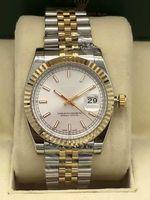 Männer und Frauen vollautomatische mechanische Uhr Mode Außengröße 36 mm hoher verstärkter Glasspiegel 316 feiner stahl super leuchtend wasserdicht