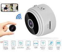 A9 1080 P Full HD Mini Spy Video Kam WiFi IP Kablosuz Güvenlik Gizli Gözetim Kameraları Kapalı Ev