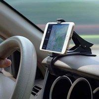 Cell Phone Mounts & Holders Universal Curved Base Car Holder Cradle Design Dashboard Mount Bracket Safe For GPS Mobile