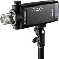 Godox Ad200Pro Ad200 Pro Avec réflecteur et filtres de couleurs Kit, 200WS 2.4G Strobe Flash, 1/8000 HSS, 500 Flash de puissance complète, 0.01