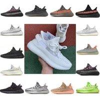 MX 귀리 록 라이트 Beluga Basf Kanye West Shoes 21 22 큰 크기 36-47 V2 Breds 탑 지구 Asriel Zyon Yecher Cinder 검은 반사 yeezy 남성 여성 운동화