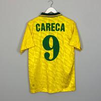 ريترو رونالدو bebeto careca رونالدينيو كاكا روماليو روبنهو ريفالدو رونالدينيو لكرة القدم الفانيلة خمر قميص كلاسيك برازيل كيت