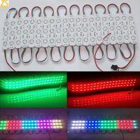 Fabricación Módulo digital de píxeles LED 100 PCS WS2811 3LED 5050 RGB Controlador de color Controlador de cadena a prueba de agua a prueba de agua DC12V Material ABS
