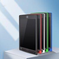 8,5-дюймовый ЖК-дисплейная доска Highlight LCD Детская Рисование Доска Электронная Нарисованная Ручной обращается Пластина Света Энергия Blackboard
