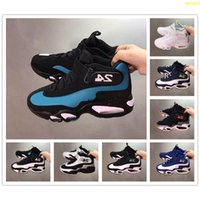 Pallacanestro 1 Vartity Bianco d'acqua dolce Sport Griffey Uomini Royal Red Shoes InductKid Nero 24 Mens Sneaker Qjhjh