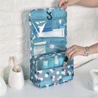 Storage Boxes & Bins Travel Makeup Bag Large Waterproof Portable Man Toiletry Women Cosmetic Toiletrie Organizer Bathroom Wash Hanging