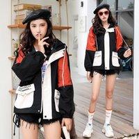 Giacche da donna BHDD Cappotto in stile coreano Girl Primavera / Autunno Plus Size Giacca 2021 Studenti Junior High School Studenti allentati Donne da baseball BF