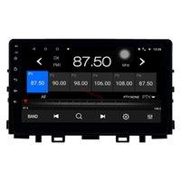 9 인치 안드로이드 10 자동차 DVD 오디오 터치 스크린 GPS 플레이어 WIFI와 함께 기아 리오 2017-2019