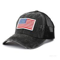 11 Día de la Independencia Lavado Día Americana de la Independencia Ponillo de Ponillo Hat Bun Summer Sun Visor Outdoor Béisbol Gorra Caps T2I52100