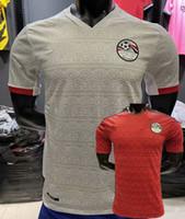 Giocatore Versione 2020 2021 Egitto Soccer Jerseys M.salah Casa Away Away 20 21 Camicia da calcio Shirt S-2XL