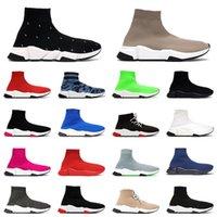 socks shoes 2021 erkek kadın platformu falt rahat spor ayakkabı spor ayakkabı tasarımcısı siyah beyaz bej moda lüksler vintage paris çorap çizmeler koşucu