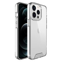 Transparent Clear Acrylic Phone Cases For Iphone 13 mini 12 11 Pro Max Samsung Note 20 S21 plus S20 S10 Motorola One 5G Ace Premium Soft TPU Hard PC Armor Shockproof Cover
