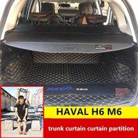 Car Organizer For HAVAL H6 2011-2021 M6 Trunk Curtain Partition Rear Storage Consolidation