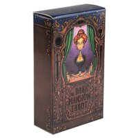 어두운 맨션 타로 카드 데크 일반 버전 3 판 포커 크기 고품질 튼튼한 종이 분사 카드 게임