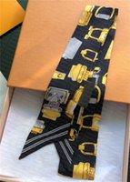 Designer di alta qualità classico borsa da borsetta in seta sciarpa fasce per donna lettera floreale in seta scravas cravi di sacchetto di seta top sacchetto di seta sciarpa fasce per capelli 8x120 cm