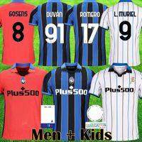 2022 Atalanta B.c. Jersey Gomez 2021 22 L.Muriel Ilicic de Roon Duvan Muriel Ata BC Bergamasca Maglia da Calcio Men Kit uniforme