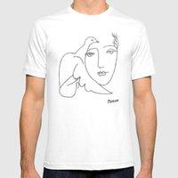 Pablo Picasso Frieden (Taube und Gesicht) T-shirt, Skizze Kunstwerk T-shirt Surrealismus Malerei Expressionismus Fauvism Artsy