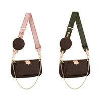 2021 SS السيدات أكياس تسوق سيدة حقيبة ثلاثة في واحد حقيبة underarm حقيبة الكلاسيكية الشهيرة المرأة الأزياء الكتفين حقائب الصليب الجسم حقائب الكتف